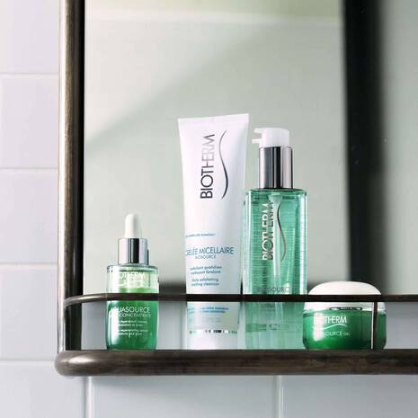 BIOSOURCE EXFOLIATING & CLEANSING GELEE MICELLAIRE